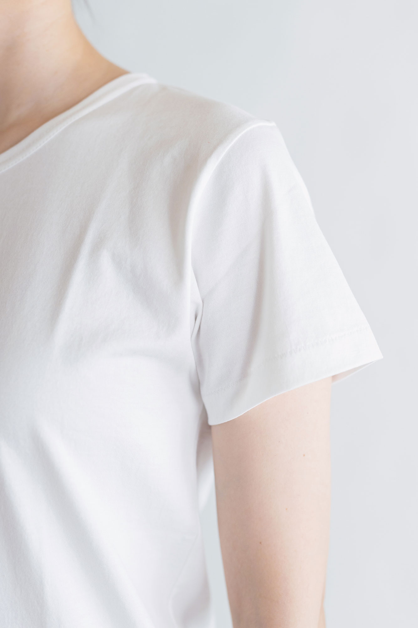 gicipi コットン クルーネックTシャツ