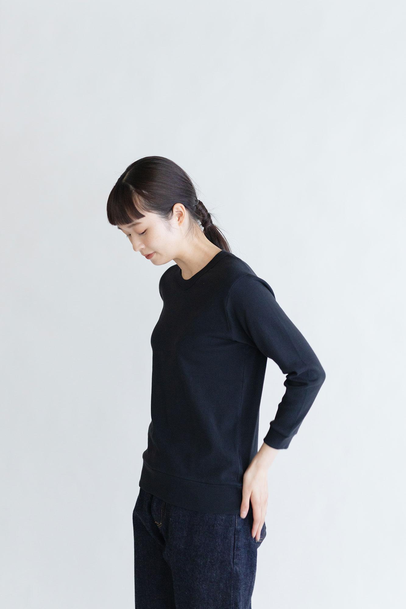 gicipi コットン 七分袖 ロングスリーブTシャツ