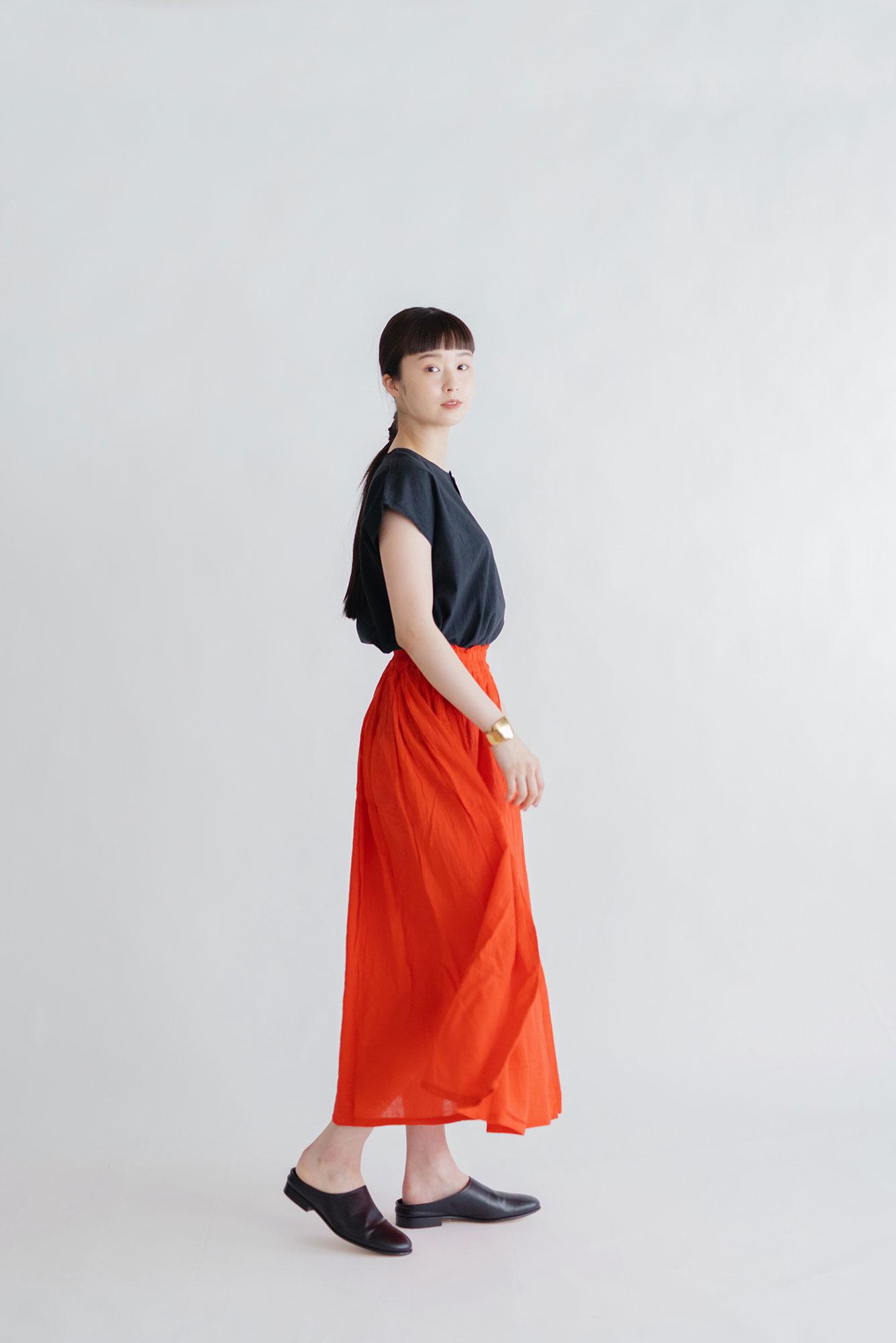 ヂェン先生の日常着 ロングスカート