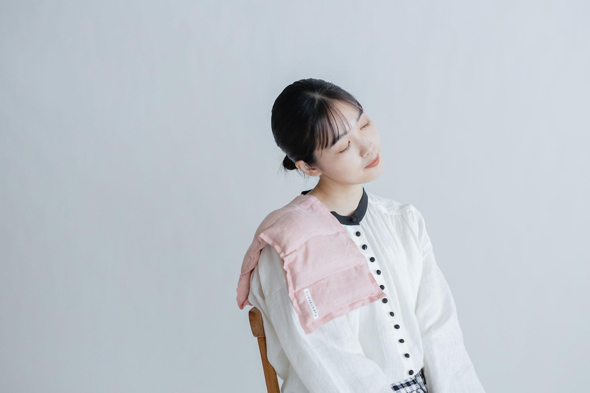 くらすこと 玄米スチームカイロ ラベンダー(肩・首・全身用)