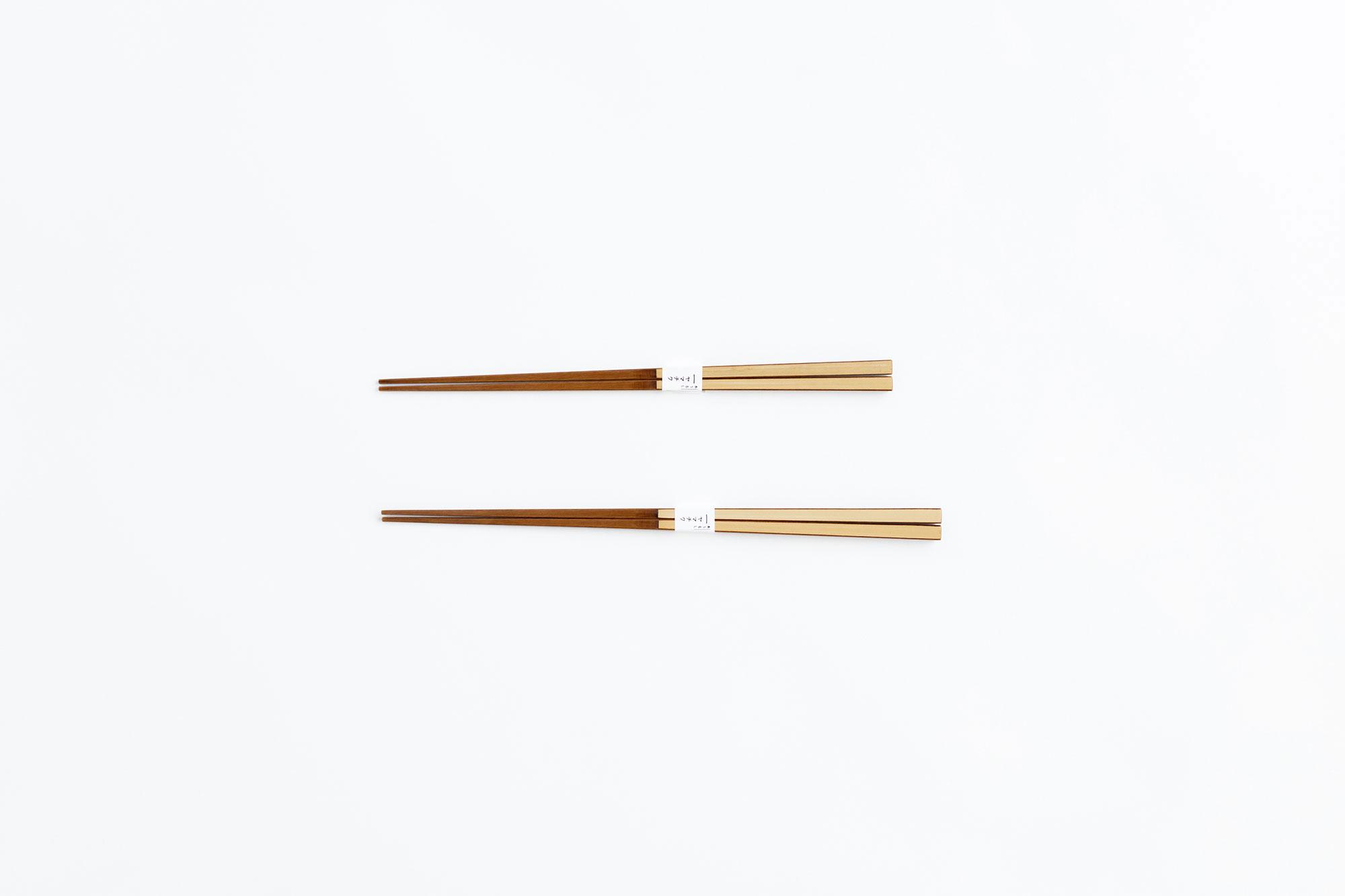 ヤマチク うるし白竹箸