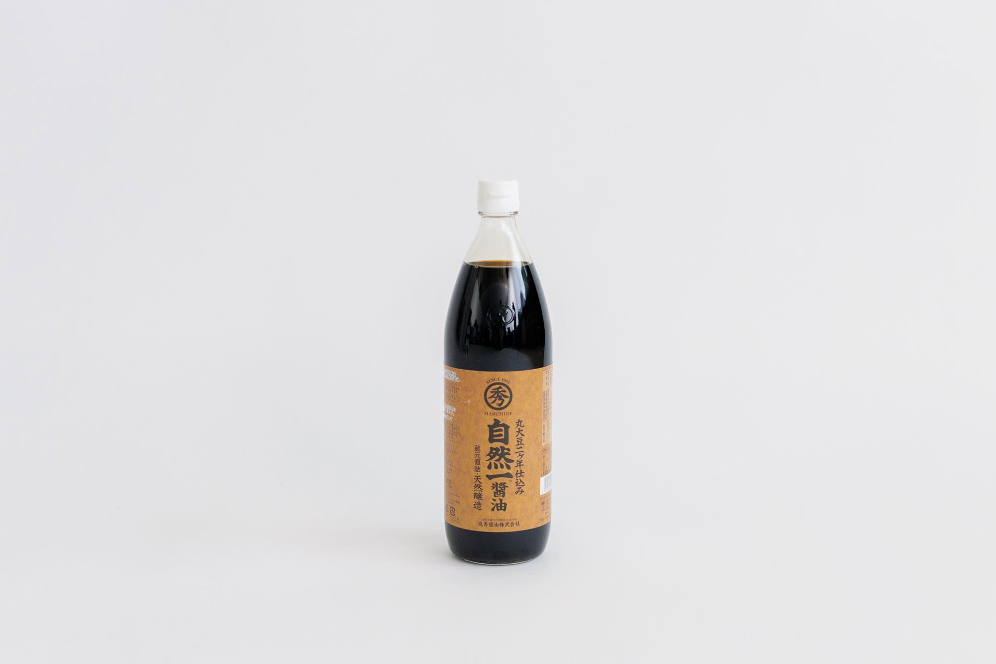 丸秀醤油 自然一醤油