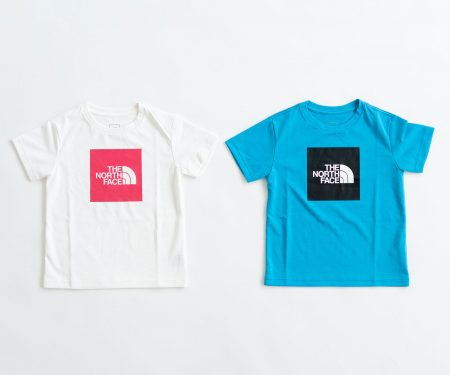 THE NORTH FACE ショートスリーブ カラードビッグロゴTシャツ キッズ