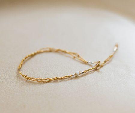 立田暁子 amulet bracelet ベネチア アンティークビーズ