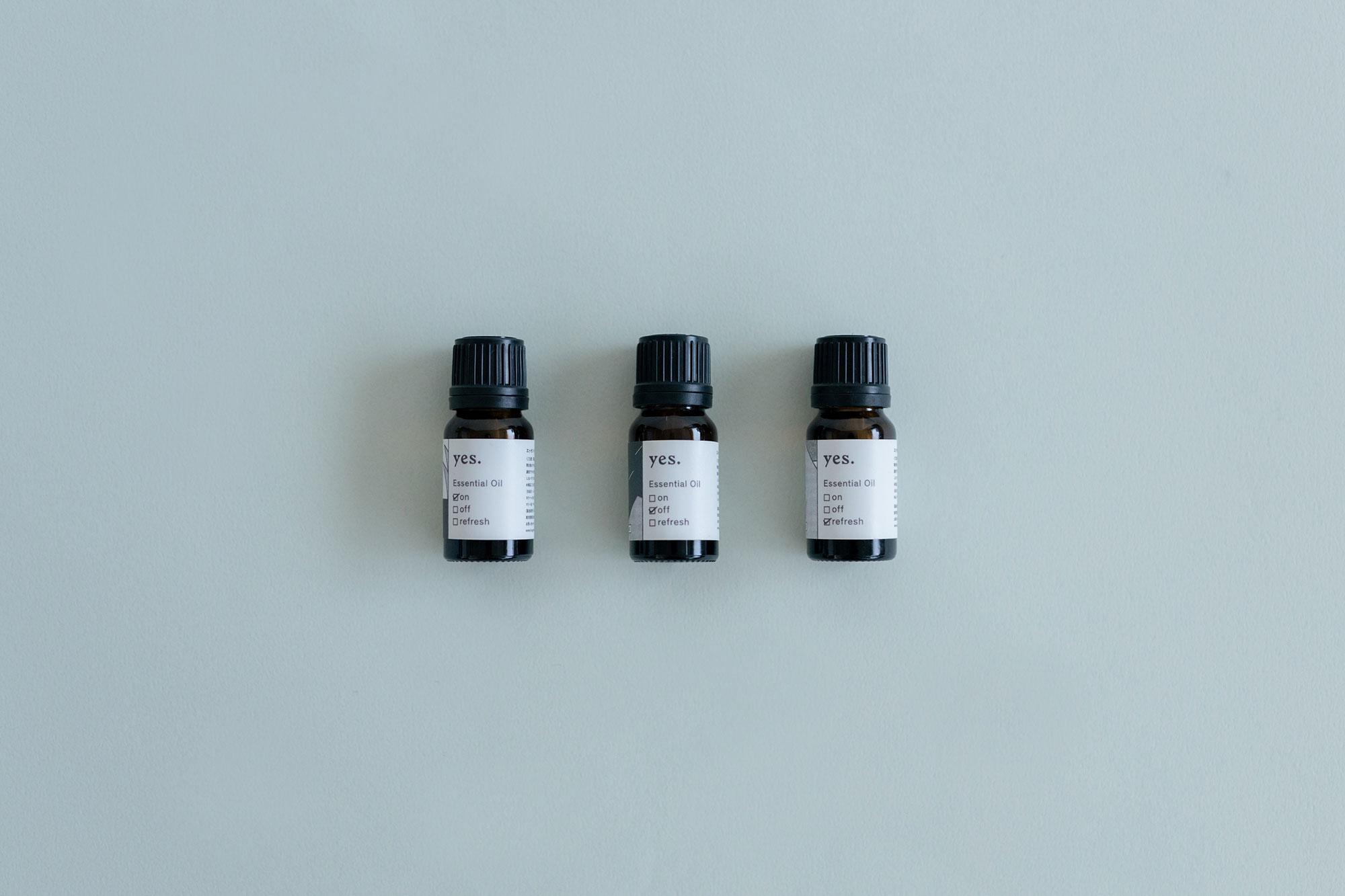 fragrance yes エッセンシャルオイル