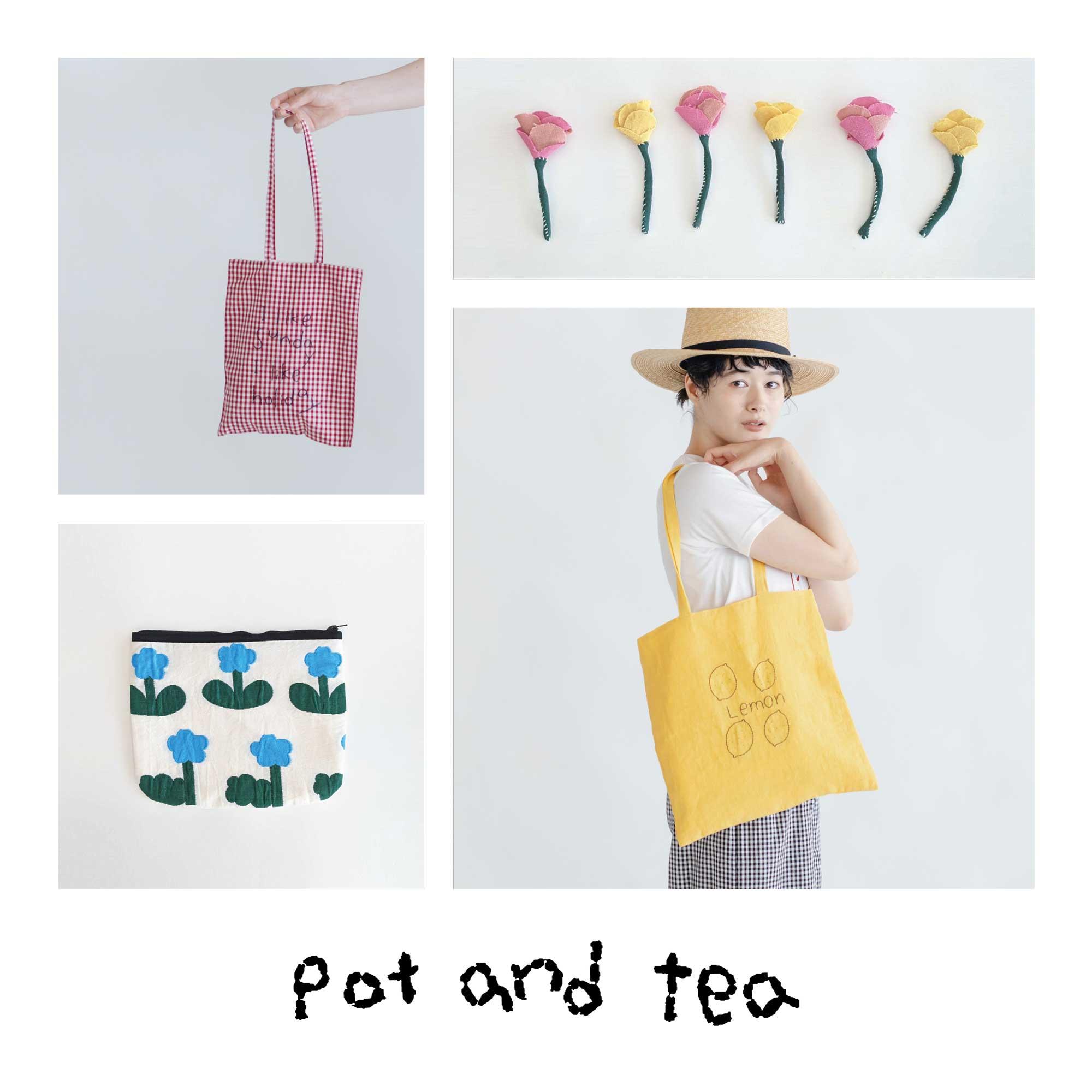 pot and tea