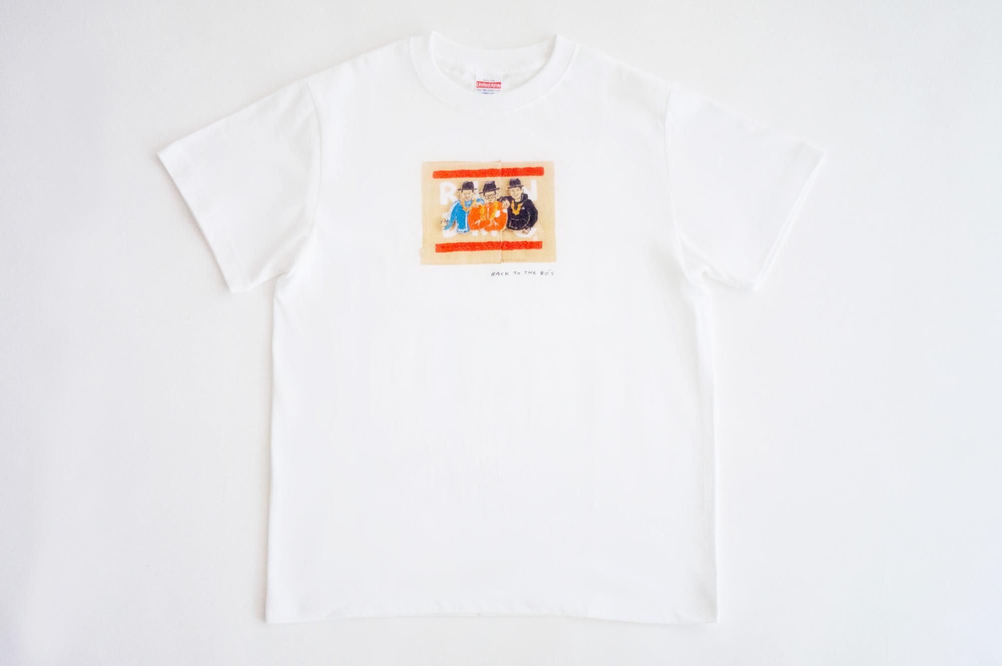 ダテユウイチ BACK TO THE 80's おとなTシャツ