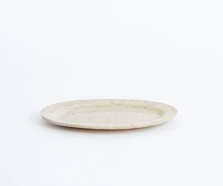 十場あすか 楕円皿